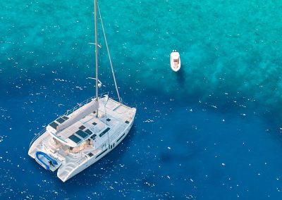 Royal Cape Catamarans, Majestic 530 Clear bue water