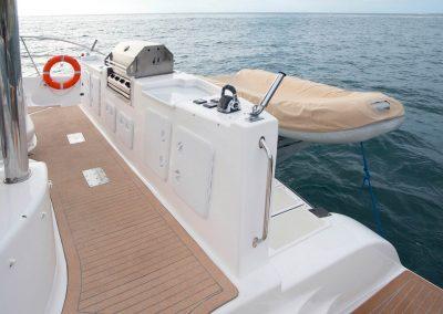 Royal Cape Catamarans, fishing, BBQ, Dive platform and tender