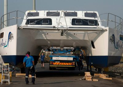 Royal Cape Catamarans, launching of new Majestic 530