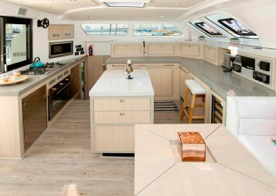 Royal Cape Catamarans, Majestic 530 Galley