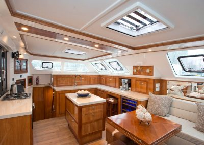 Royal Cape Catamarans, Majestic 530, Salon, Galley