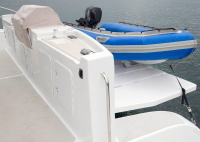 Royal Cape Catamarans, tender boat, rubber duck