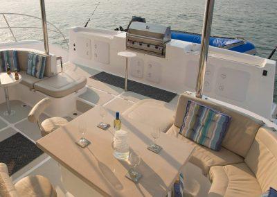 Royal Cape Catamaran Majetic 530 at dusk