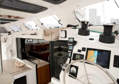 Royal Cape Catamaran, Majestic 530 Cockpit