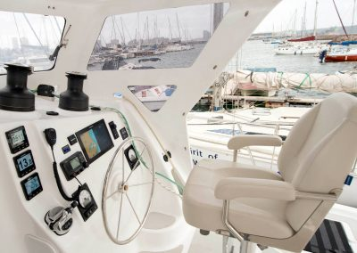 Royal Cape Catamarans, New Majestic 530 Helm