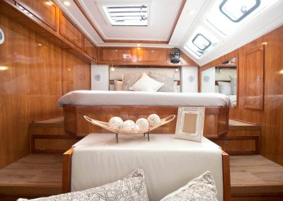 Royal Cape Catamarans, Majestic Cabin Bed