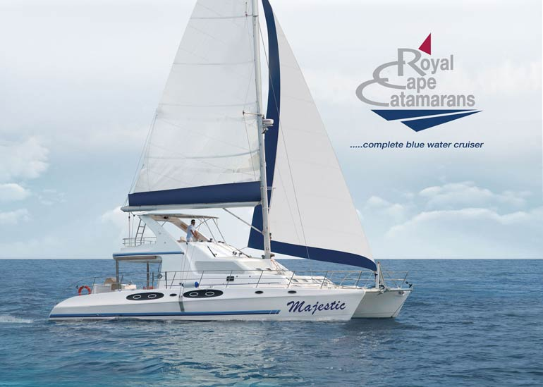 Royal Cape Catamarans, Majestic 530 Fly Brochure