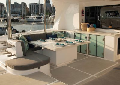 Royal Cape Catamarans, New Luxurious Majestic 570, table