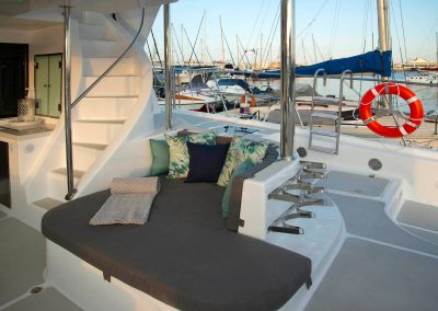 Royal Cape Catamarans, New Luxurious Majestic 570, deck