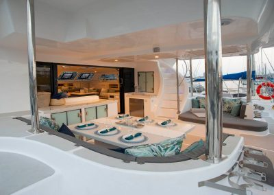 Royal Cape Catamarans, New Luxurious Majestic 570 Yacht, deck