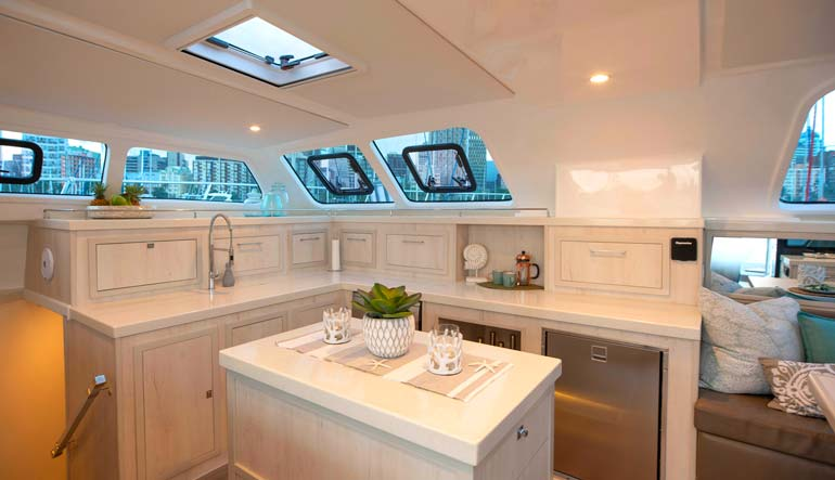 Royal Cape Catamarans, Majestic 530 Yacht, Galley