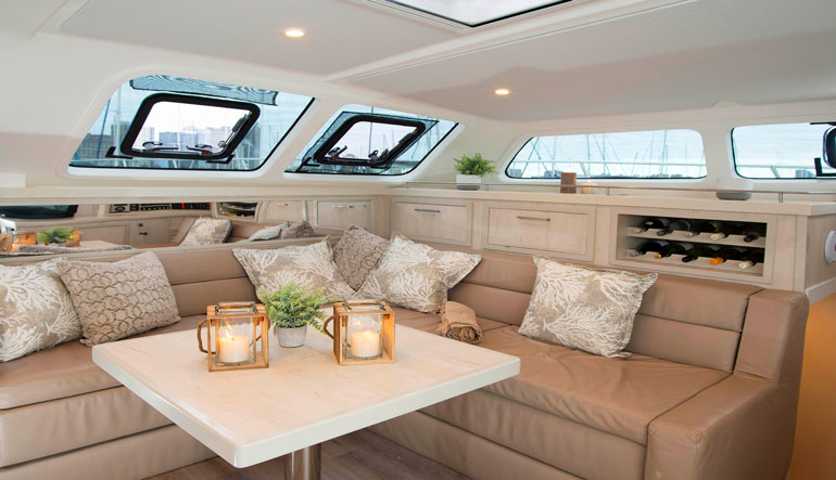 Royal Cape Catamarans, Majestic 530 Yacht Galley