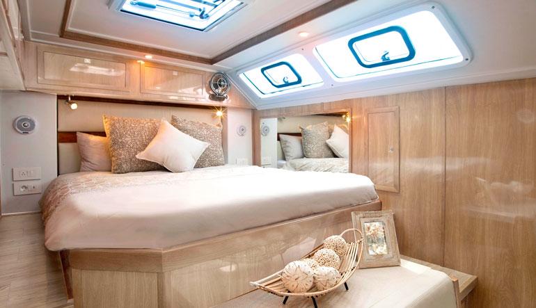 Royal Cape Catamarans, Majestic 530 Yacht, Master Cabin