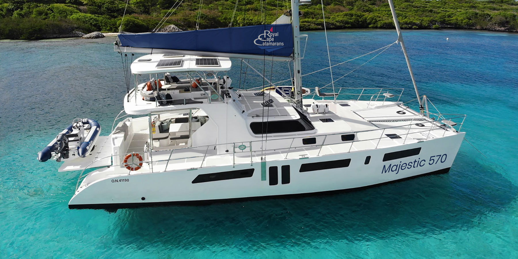 Royal Cape Catamarans, Majestic 570 Yacht