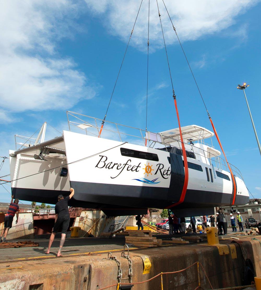 Royal Cape Catamarans, Majestic 530 Yacht Launch