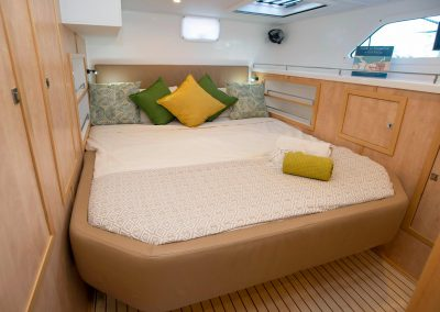 Majestic 530, Luxury Catamaran cabin