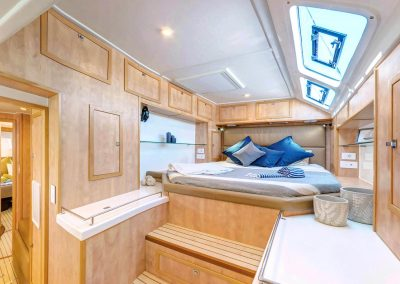 Majestic 530, Luxury Catamaran cabins