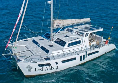 Majestic 530, Luxury Catamaran sailing